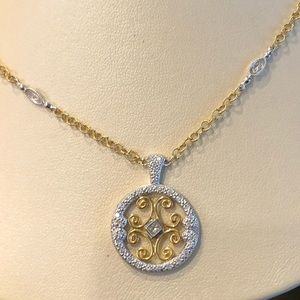 Charriol 18k yellow and white gold necklace